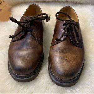 DR MARTENS six hole shoes